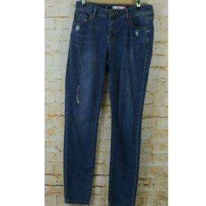 Cabi Curvey Skinny Jeans Distressed